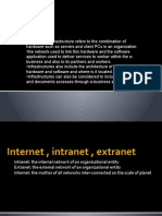 Internet,intranet,extranet