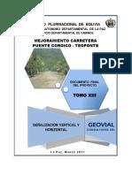 Señalizacion Vertical y Horizontal (Pte. Coroico-Teoponte)
