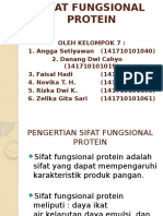 Kel 7 Sifat Fungsional Protein