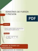 Sensores de Fuerza y Presión