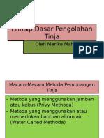 4. Prinsip Dasar Pengolahan Tinja