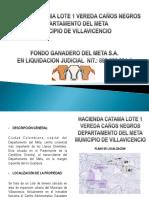 Brochure Hacienda Catama Lote 1