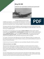 Luftwaffe Bomber Wing KG 200