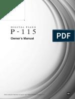 Owner's Manual P-115.pdf