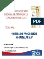 II Capac Nutric Dietas Hospit Mayo2015