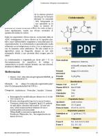 Cicloheximida - Wikipedia, La Enciclopedia Libre
