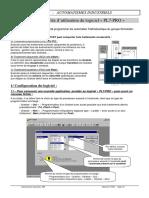 Notice simplifiée d'utilisation du logiciel « PL7-PRO »