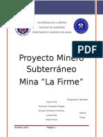 Proyecto Subterraneo Mina La Firme (1)