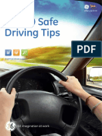 GE Capital Safe Driving Top Tips