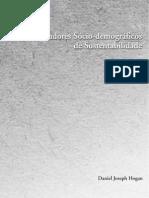 Indicadores Socio-Demograficos de Sustentabilidade - HOGAN, D. J., 2004