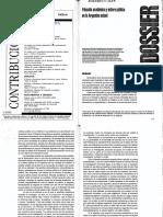 ADEF Dossier Filosofia académica y esfera pública