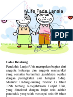 PP Quality Life Pada Lansia