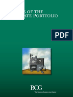 BCG Masters of the Corporate Portfolio Aug 2016