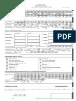 Standard Claim Form Hospital
