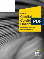 EY Capital Confidence Barometer October 2015