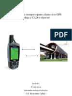 Translacija geoprostornih objekta iz GPS uređaja u AutoCAD i obratno