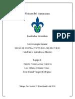 Manual de -MICROBIOLOGIA Equipo 4