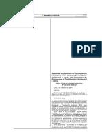 Participación Ciudadana en Las Acciones de Monitoreo Ambiental a Cargo de La Oefa.