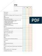 osce respiratory checklist