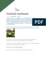 Colonias huérfanas
