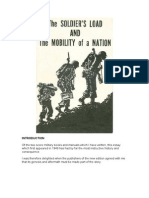 The Soldier's Load and the Mobility of a Nation S.L.A. Marshall
