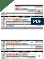 trimester 2 schedule