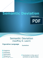 Semantic Deviation
