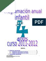 Programacion Anual Infantil 4 Anios