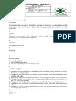 SOP 8.2.6.1 Penyediaan Obat Emergency Di Unit Pelayanan