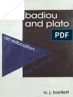 Bartlett, A.J. - Badiou and Plato An Education by Truths.pdf