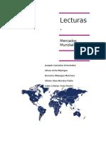 Lecturas Adjuntas de Mercados Mundiales