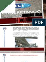 Durabilidad del concreto 2° Expocición