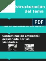 contaminacion ambiental ocacionada por las vialidades