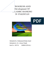 Progress and Growth of Islamic Banking in Pakistan