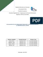 Informe Servicio Comunitario, Acosta, Balestrini, Lopez y Martinez
