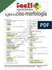 Ejercicios de Morfología
