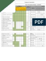 Programa de Capacitación - 2012