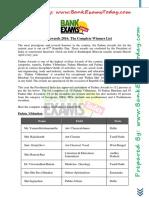Padma Awards 2016 - The Complete Winners List.pdf
