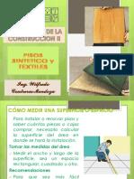 Pisos Sinteticos y Textiles
