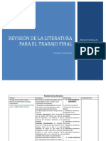 REVISIÓN DE  LA LITERATURA
