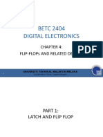 Chapter 4 - Flip-flops and Related Devices