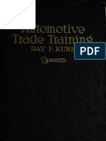 (1922) Automobile Trade Training
