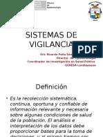 Sistemas de Vigilancia y Sala Situacionas