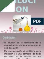 dilucion