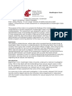 project recommendation memo