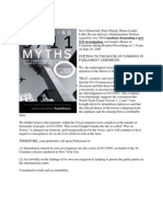 911 Truth Petition McCain Canada