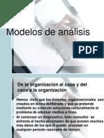 Modelos de Analizis