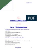 QTP Excel scripts