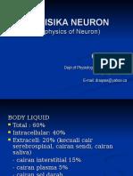 Biofisika Neuron (2)