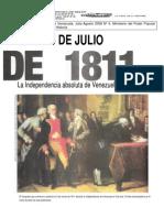 HV7- 34.2  5 de Julio de 1811